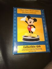 "The One and Only Mickey Mouse Lorus Watch Figure Collectible 4-1/4"" NIB"