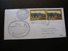 URUGUAY - enveloppe 1975/1976 (cy66) (A)