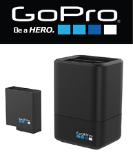 GOPRO dual battery charger +battery caricabatteria doppio + Batteria HERO5 Black