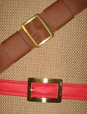 Zelda cosplay red waist & brown shoulder belts for Ocarina of Time Link Costume