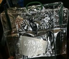ZIP Storage Bags Twin Pack 2 x 35 Litre, CLEAR 50 x 44 x 16cm with FREE P&P