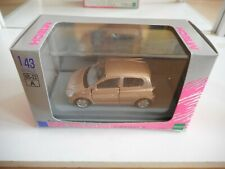Mtech Toyota Vitz in Bronze on 1:43 in Box