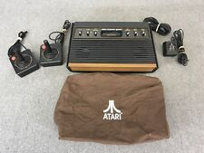 Atari 2600 Light Sixer Woodgrain Console Bundle with Controllers & Adapter