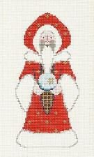 """*NEW* """"Ghost of Christmas Future"""" Santa handpainted Needlepoint Canvas by Petei"""