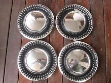 "1960 DODGE POLARA SENECA 15"" HUBCAP HUB CAP WHEEL COVER, SET OF FOUR"