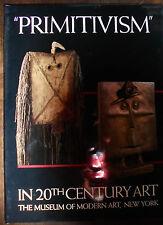 PRIMITIVISM IN THE 20TH CENTURY ART. W. Rubin, Moma, New York 1984 *sl14