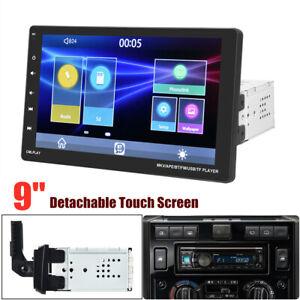 9'' Detachable Touch Screen Bluetooth GPS Mirror Link Universal Car Radio Player