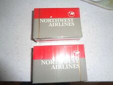 Qty 2 Northwest Airline Playing Cards - Sealed  New Old Stock