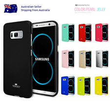 Samsung S8/Plus S7/Edge S6 S5 S4 Mercury Shockproof Rubber Jelly GEL Case Cover
