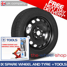 Steel Octavia Summer Wheels with Tyres