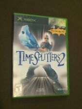 Original Microsoft XBox Video Game TimeSplitters 2 Rated T NICE!