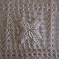 Napperon chemin table meuble fait main textile art nouveau déco Italie N5107