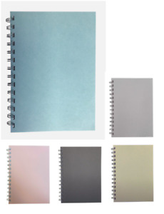 Various Colour Pastel A5 Lined Notepads 70 Sheets 80gsm