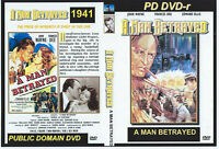 A Man Betrayed 1941 - Rare John Wayne Crime Drama Dvd {DISC ONLY} FREE SHIPPING