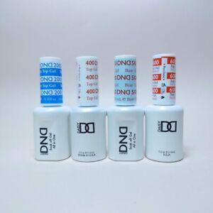DND Daisy Soak Off Gel Essentials - [Top Coat - Base Coat]