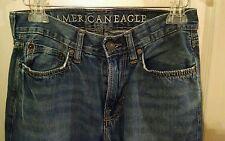 American Eagle Low Rise Boot Cut Men's Jeans Actual 31x29 Tag 28x30 100% Cotton