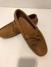 Dexter Women's Leather Suede Moccasin Sand / Brown US Women Size: 8