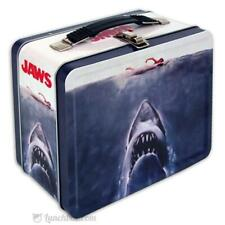 Jaws Lunch Box - Retro Looking Lunchbox With Vintage Movie Poster Artwork