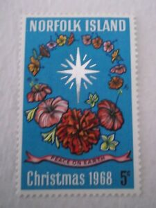 1968 Norfolk Island Christmas m/m Mi100. A7C4