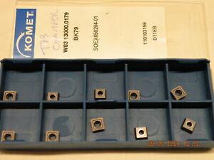 x10 Komet SOEX 050204-01 BK79 Carbide inserts new