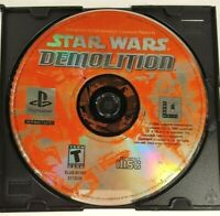 GAME DISC ONLY - Star Wars Demolition - DISC ONLY Sony PlayStation PS1 2000