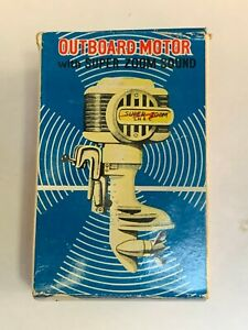 Vintage Toy Outboard Motor Japan Super Zoom No.30 Union Craft