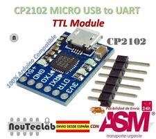 CJMCU CP2102 MICRO USB to UART TTL Module 6Pin Serial Converter Replace FT232