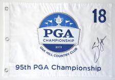 2013 PGA CHAMPIONSHIP Winner - JASON DUFNER - Signed Embroidered GOLF FLAG
