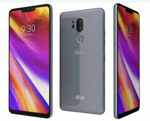 LG G7 ThinQ 64GB Black or Gray   Verizon Total Tracfone   LMG710VM   Very Good