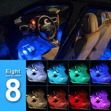 4pcs Car Interior Atmosphere Neon Lights Strip 36Led Wireless Ir Remote Control