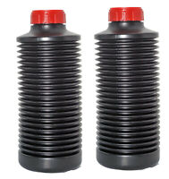 2 x AP Collapsible 1 Litre Bottles for Film Developing Chemicals Concertina