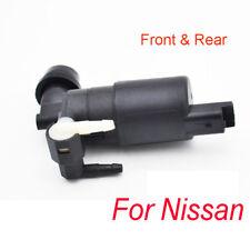 Front Rear Windshield Washer Pump For Nissan Micra Armada Qashqai J10 Pathfinder