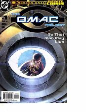 Lot Of 7 Omac Project DC Comic Book #1 2 3 4 5 6 Special 1   BH43