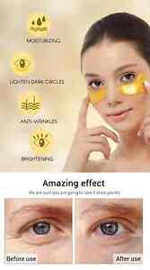 Collagen Gold Under Eye Mask- Moisturising Anti-wrinkle Brightening Dark Circles