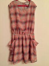 M&S Indigo Dress. Aged 10-11. Immaculate.