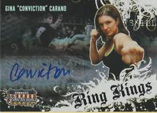 Gina Carano 2008 Donruss Americana II Ring Kings autograph auto card RK-GC /492