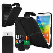 Clip On PU Leather Flip Case Cover Pouch For Acer Liquid Glow E330