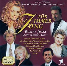 FÜR IMMER JUNG - ROBERT JUNG: SEINE GRÖSSTEN HITS / 2 CD-SET - TOP-ZUSTAND