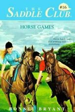 Horse Games (Saddle Club, No.16)-ExLibrary
