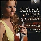 SCHOECK:COMPLETE VIOLIN SONATAS NEW CD