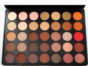 Crush Cosmetics 35B Browns Beiges Creams Eyeshadow Palette 56.2g discontinued br