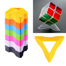 3Pcs Universal Magic Cube Puzzle Stand Base Holder For Rubik's Cube  NEW