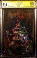DETECTIVE COMICS #1000 CGC SS 9.8 JIM LEE FOIL VARIANT BATMAN JOKER HARLEY QUINN