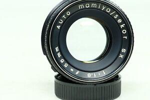 Mamiya Sekor Auto SX 55mm f1.8 Lens M42 Mount!!!