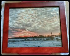 8 x 10 original landscape photography.  Professionally printed put in wood frame