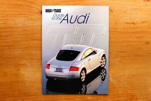 Vtg Original Road & Track Guide to the AUDI TT Special Edition Magazine 1999