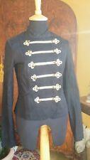 Black Miltary Jacket Size: 6