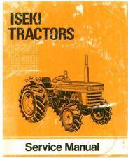 Iseki TS3510 TS4010 TS4510 Tractor Workshop Service Repair Manual (0041)