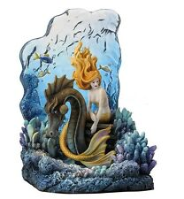 "8"" Sunlit Seas Bookend by Selina Fenech Mermaid Home Decor Sculpture Statue"