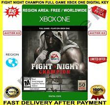 Fight Night Champion Xbox One 🔑 Digital Key Code 🌏 Region Free ✅ FREE P&P 🎮